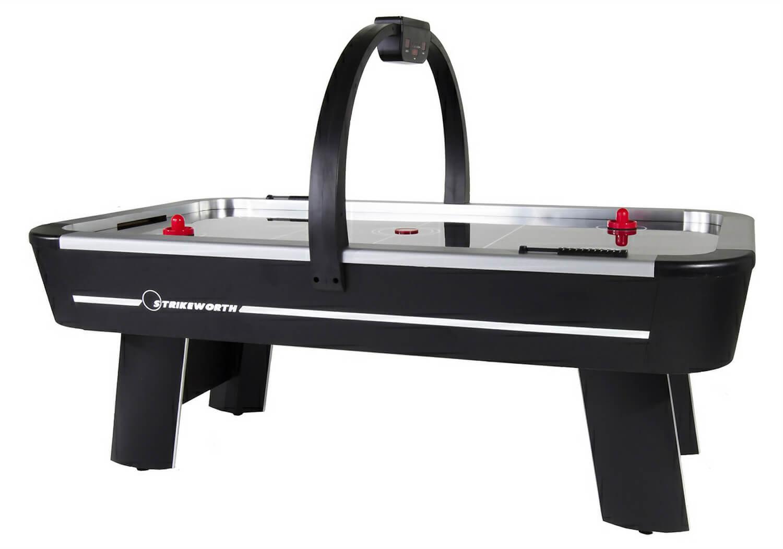 Strikeworth pro ice aluminium 7 foot air hockey table liberty games - Tournament air hockey table ...