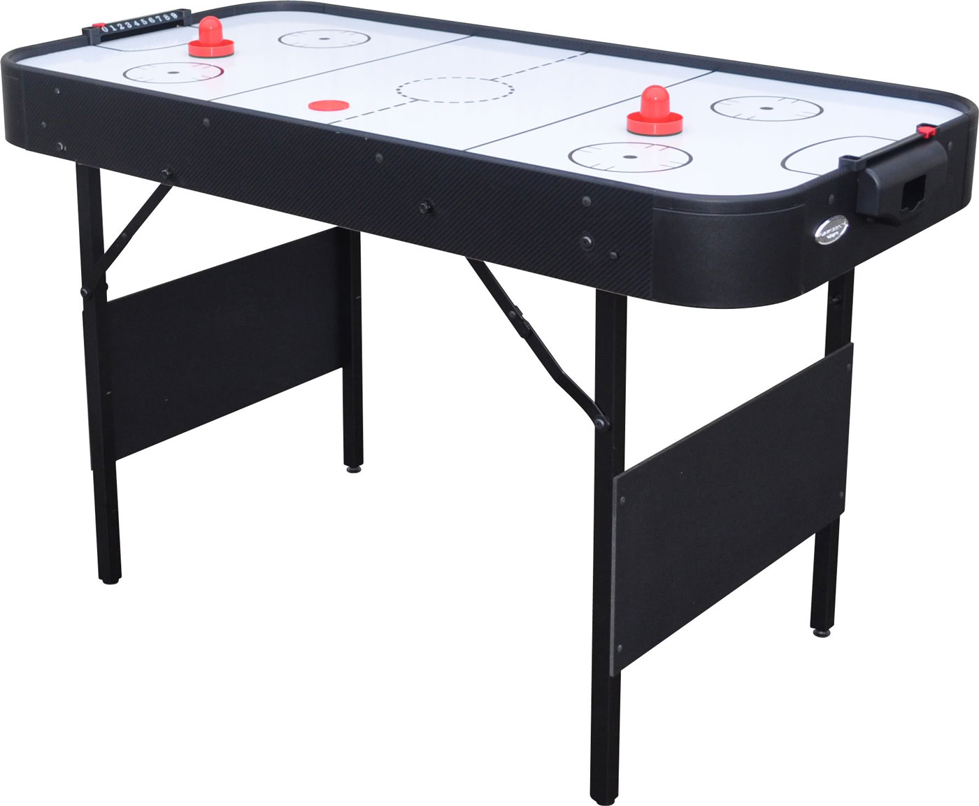 Gamesson shark 4 foot air hockey table liberty games for Table hockey