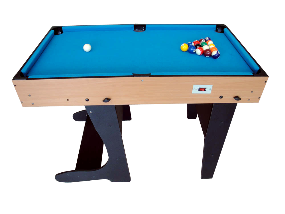 The M4B 1F With Pool Table Set Up