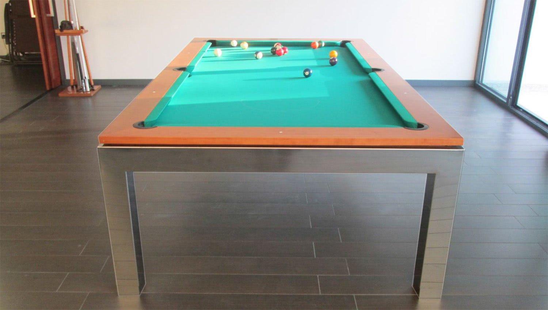 The empire slate bed pool table liberty games - Slate pool table ...