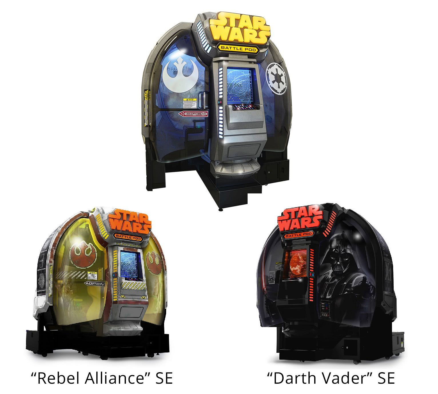 Star Wars Battle Pod Arcade Machine Liberty Games