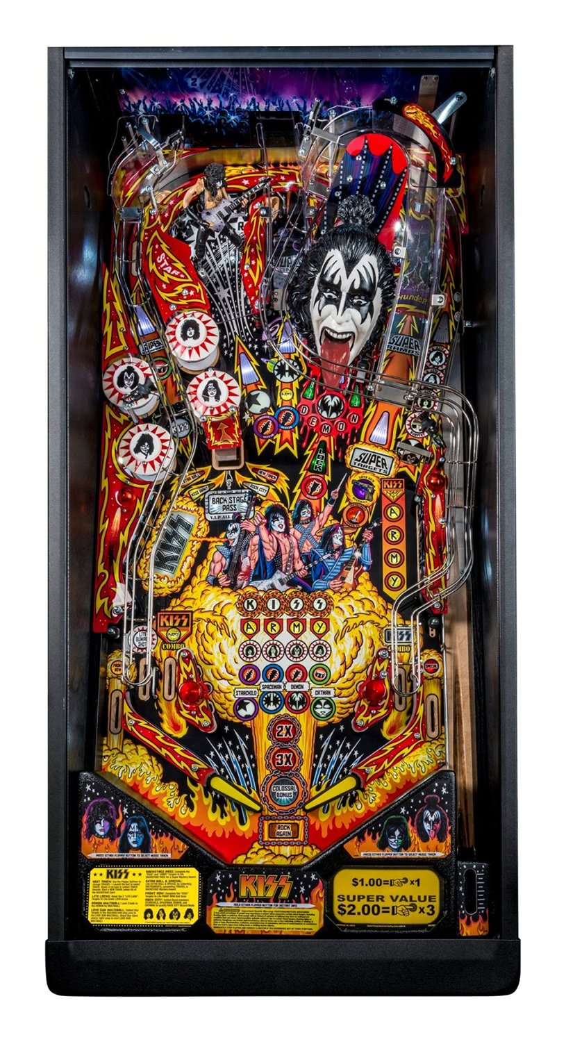 Stern Kiss Pro Pinball Machine Liberty Games