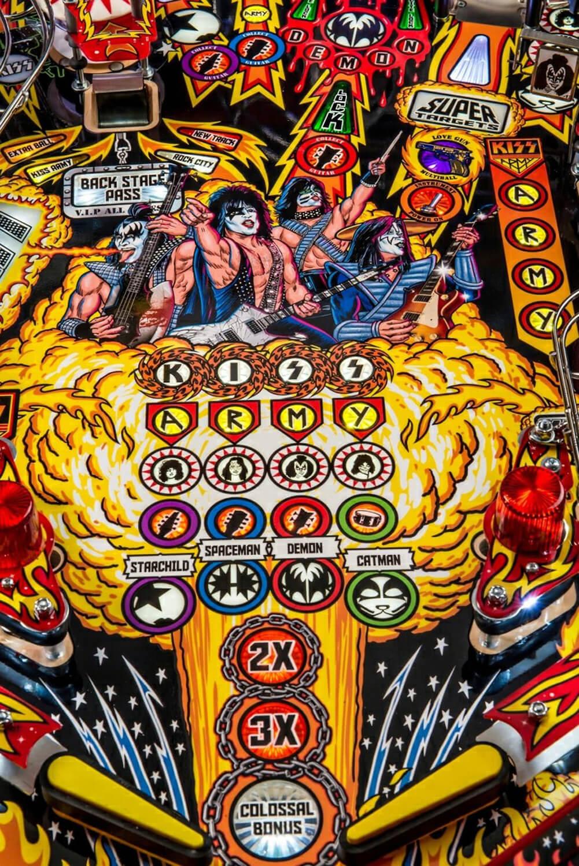 Stern Kiss Premium Pinball Machine Liberty Games