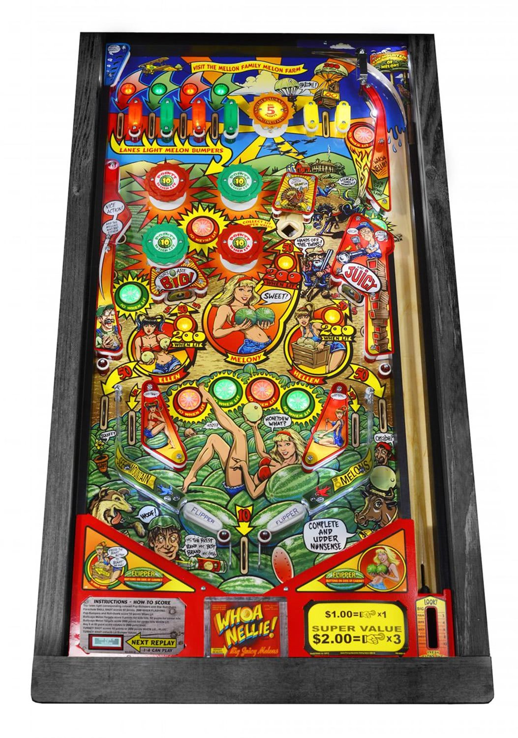 Stern Whoa Nellie Pinball Machine Liberty Games