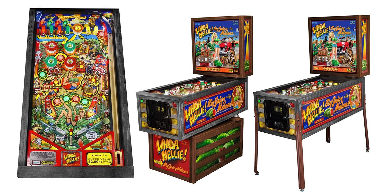Stern Whoa Nellie Pinball Machine Liberty Games