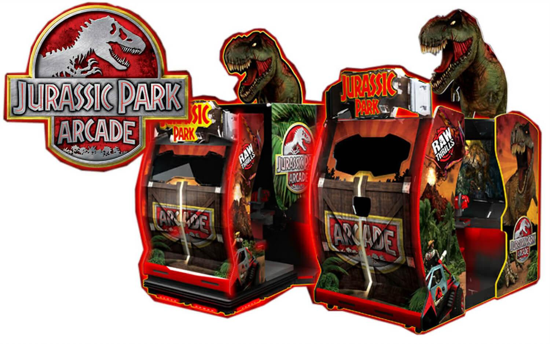 Namco Jurassic Park Arcade Machine | Liberty Games