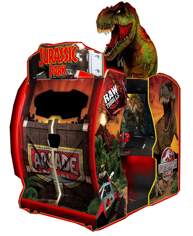 jurassic park arcade machine