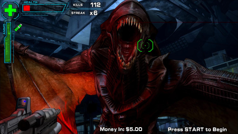 Namco Aliens Armageddon Arcade Machine Liberty Games
