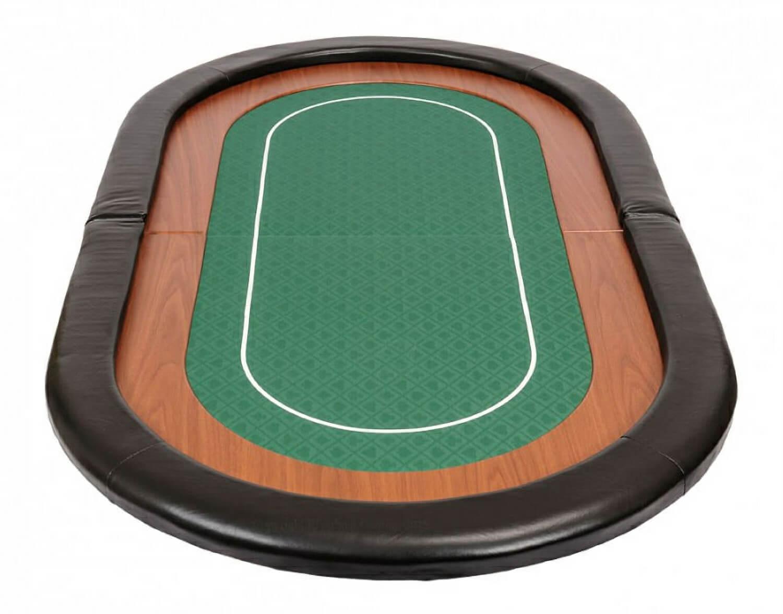 mini champion folding poker table top rtminigreen