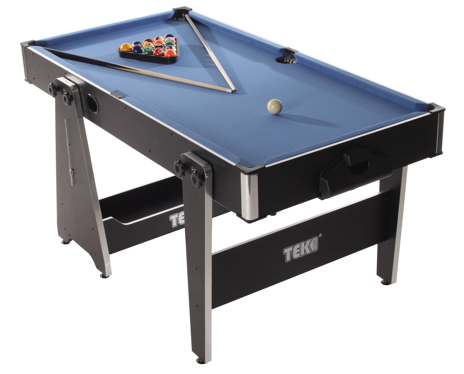 5ft Multigame Pool Table