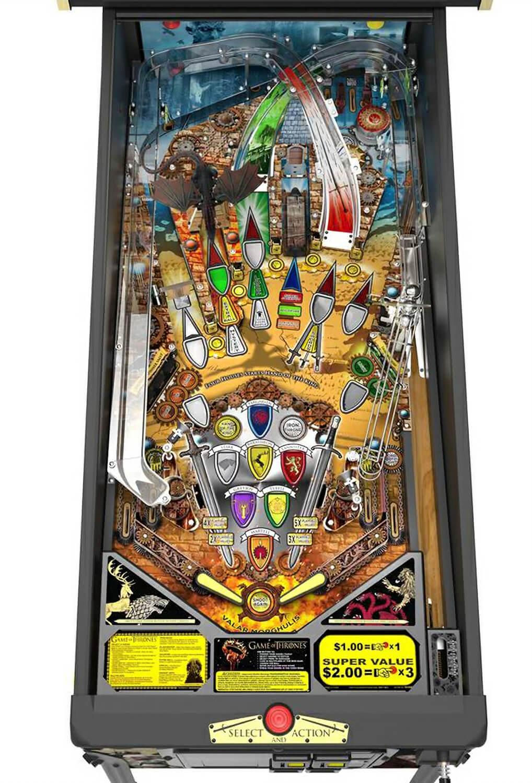 Stern Game Of Thrones Pro Pinball Machine Liberty Games