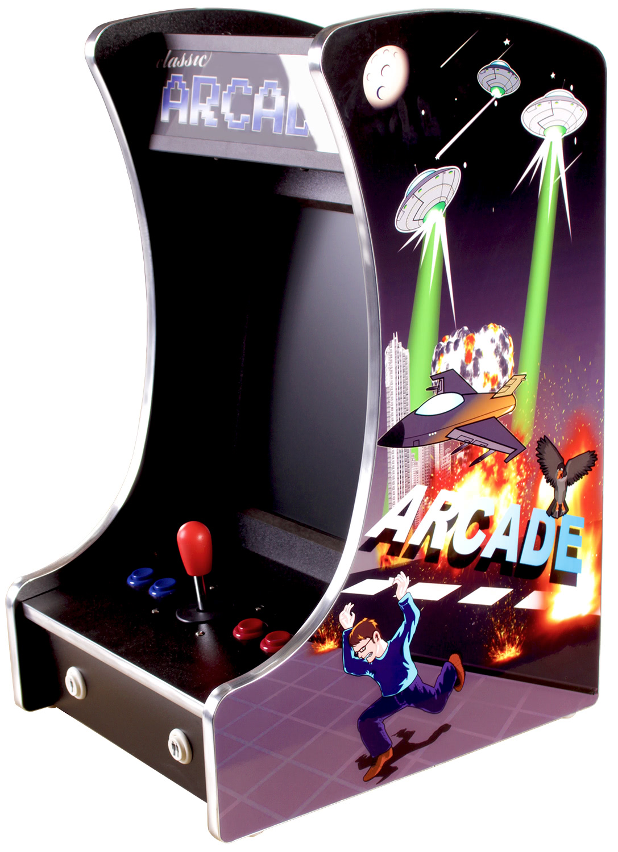 Cosmic 60-in-1 Mini Multi Game Arcade Machine | Liberty Games