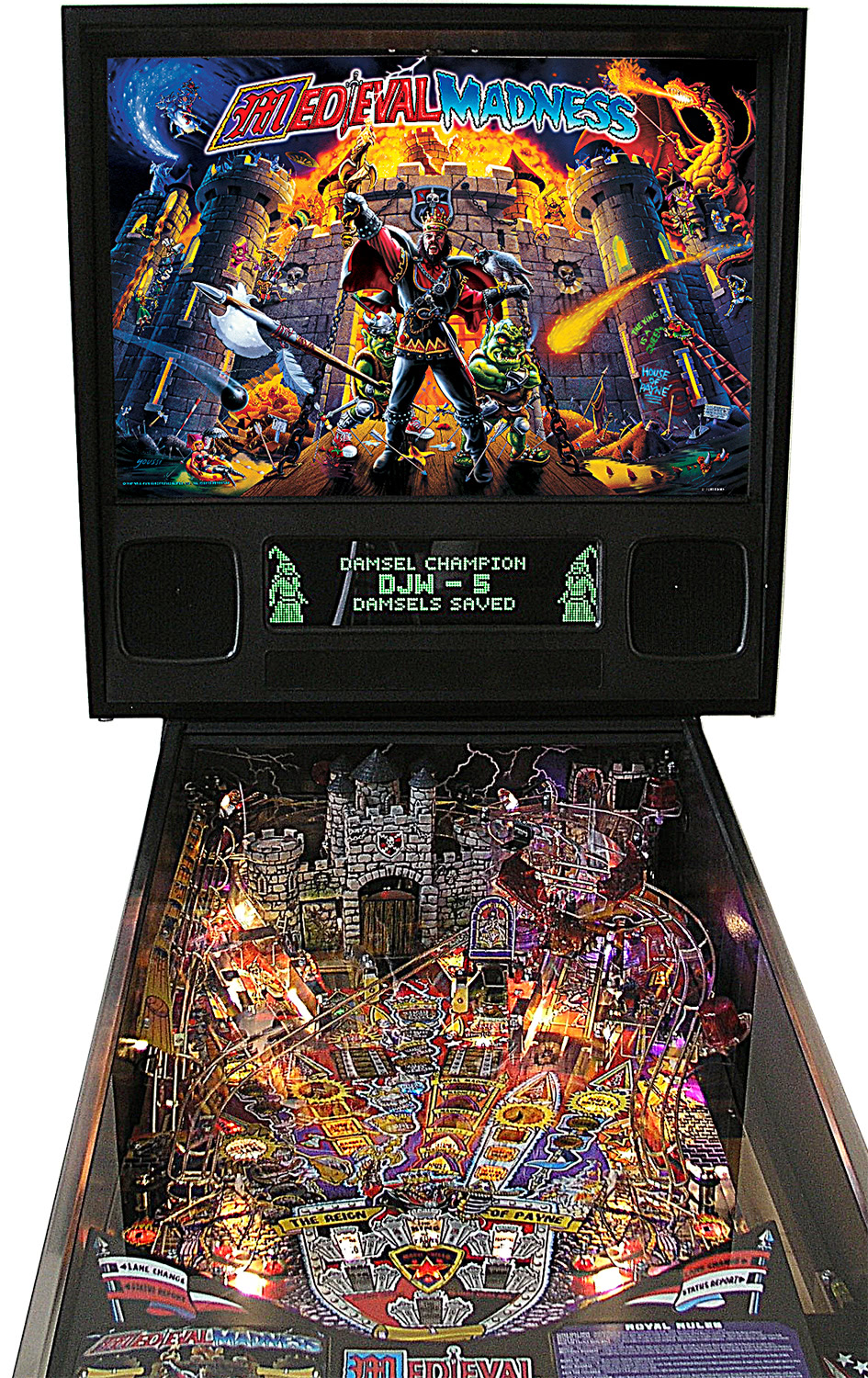 Medieval Madness Remake Pinball Machine Liberty Games