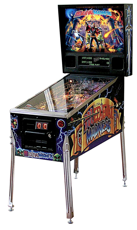 Medieval Madness Remake Pinball Machine Liberty Games