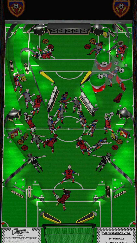 Capcom Flipper Football Pinball Machine For Sale Liberty