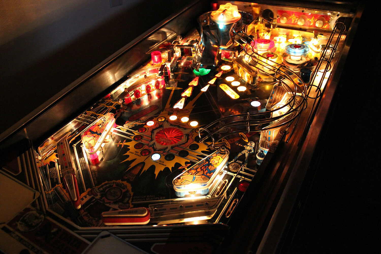 Pinball coffee table instacoffeetable pinball coffee table geotapseo Image collections