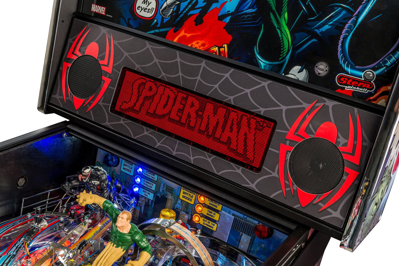 Stern Spider Man Vault Edition Pinball Machine Liberty