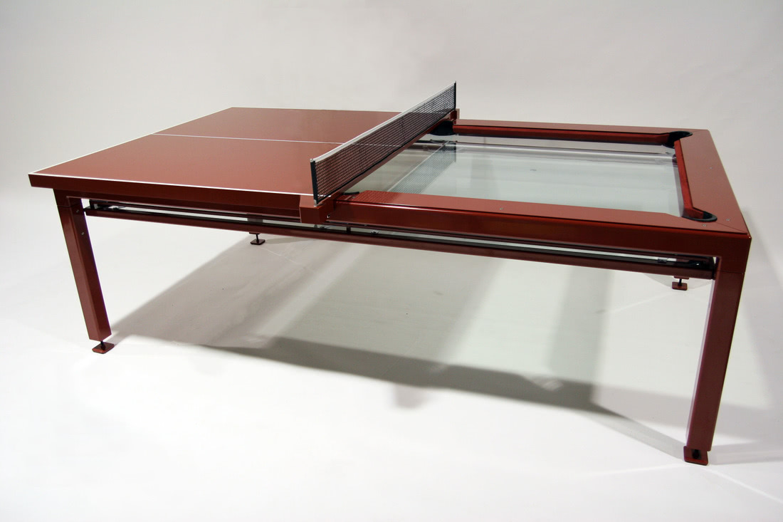 The G4 Phoenix Pool Table With Table Tennis Top