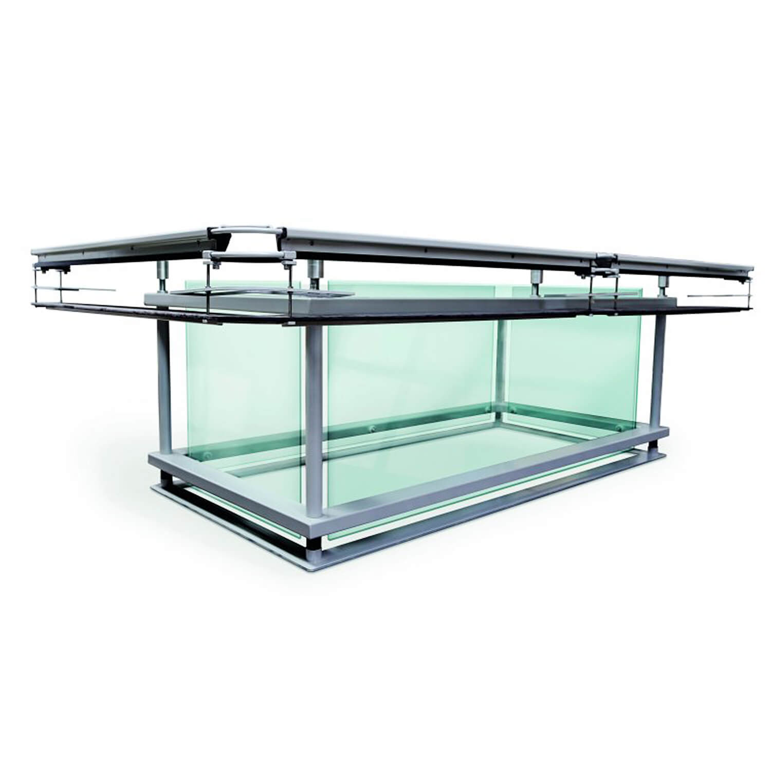 G7 Mode Luxury Glass Pool Table Liberty Games