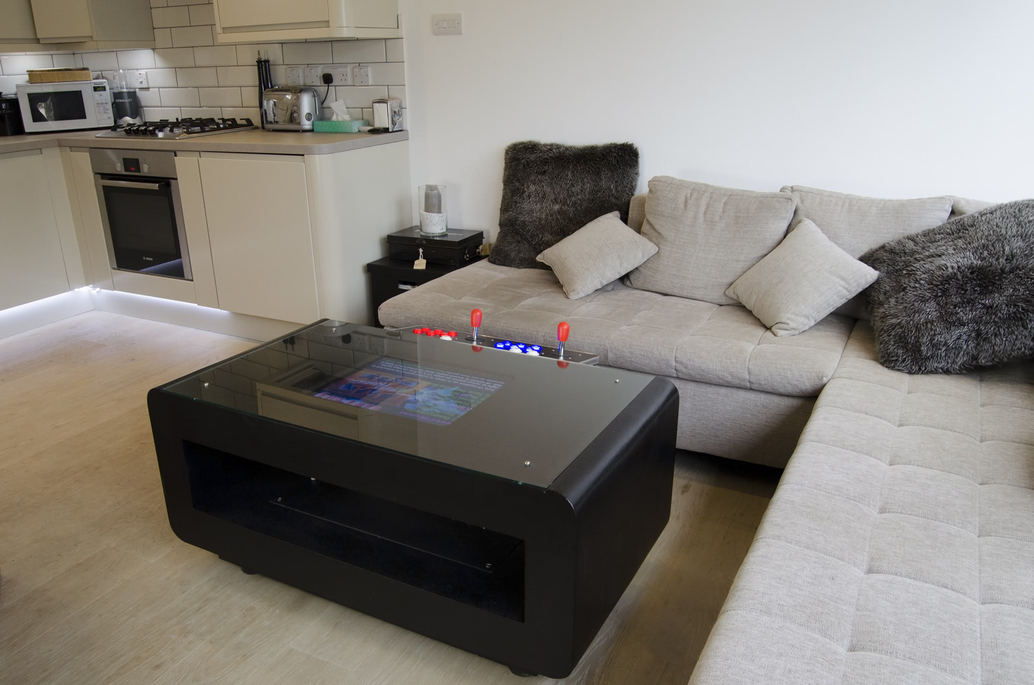 Galaxy Arcade Coffee Table 2000 In 1 Liberty Games