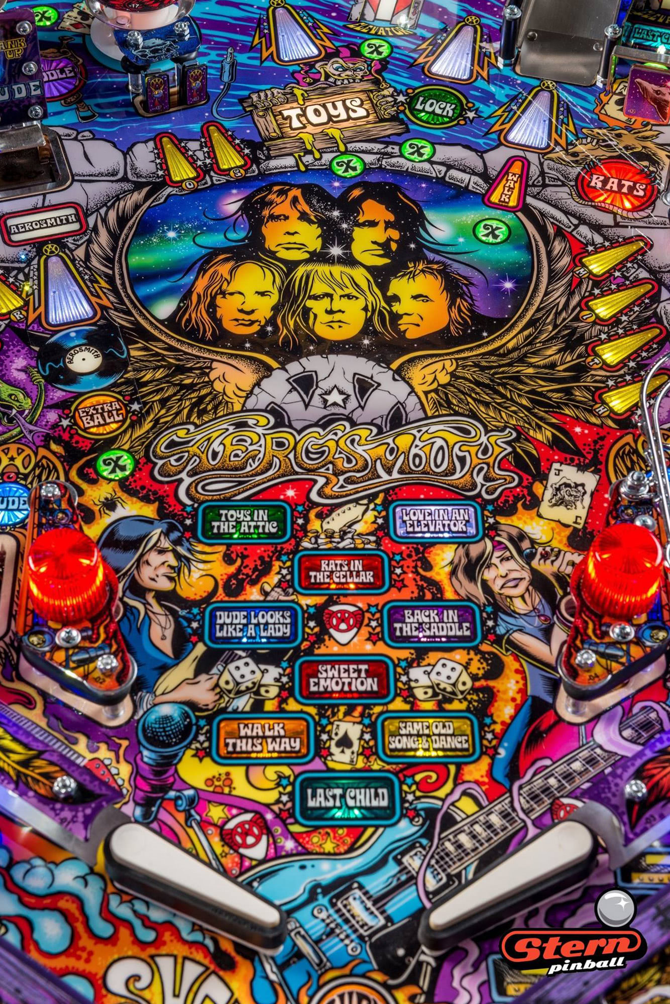 Stern Aerosmith Pro Pinball Machine Liberty Games