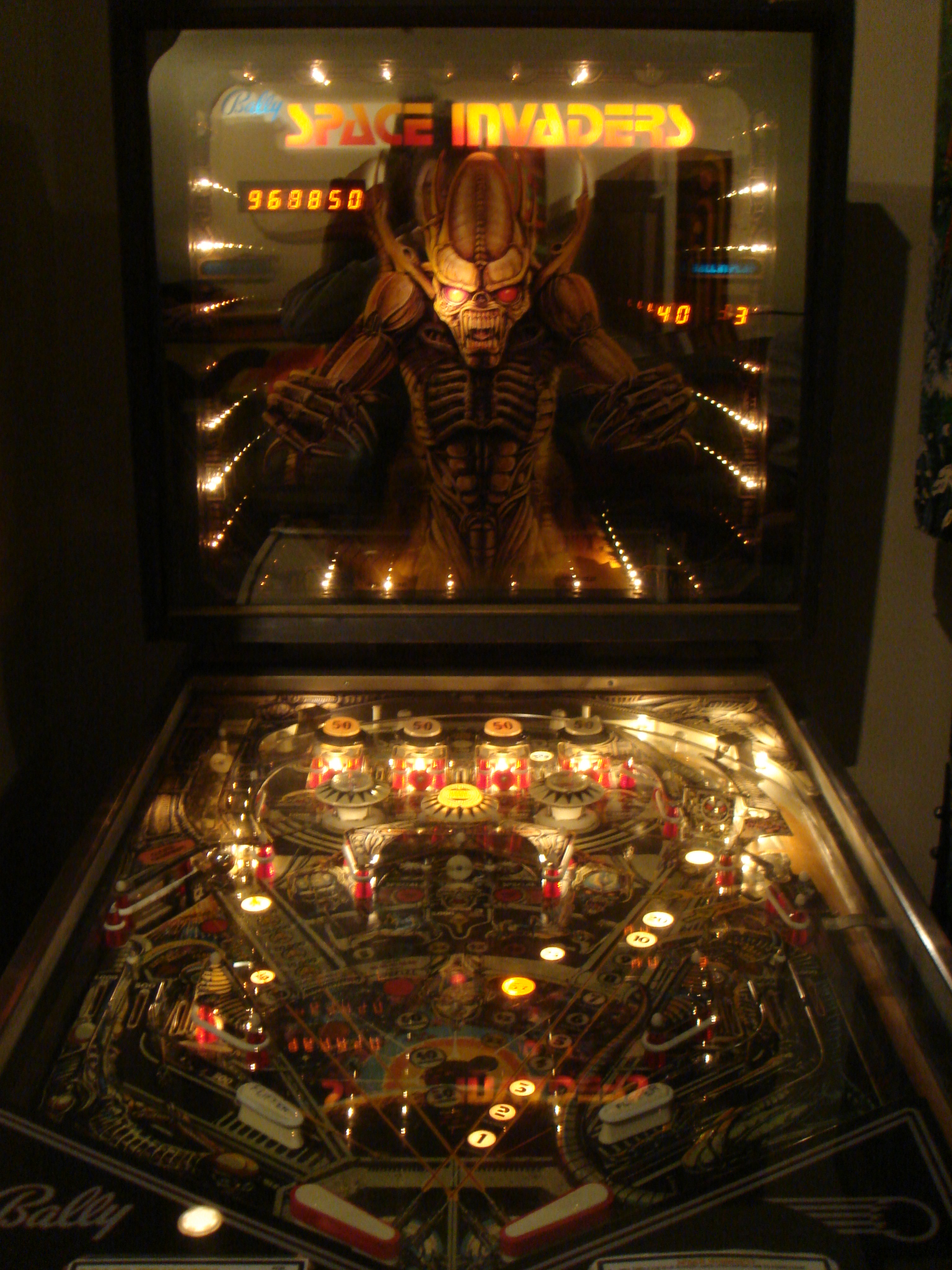 Space Invaders Pinball