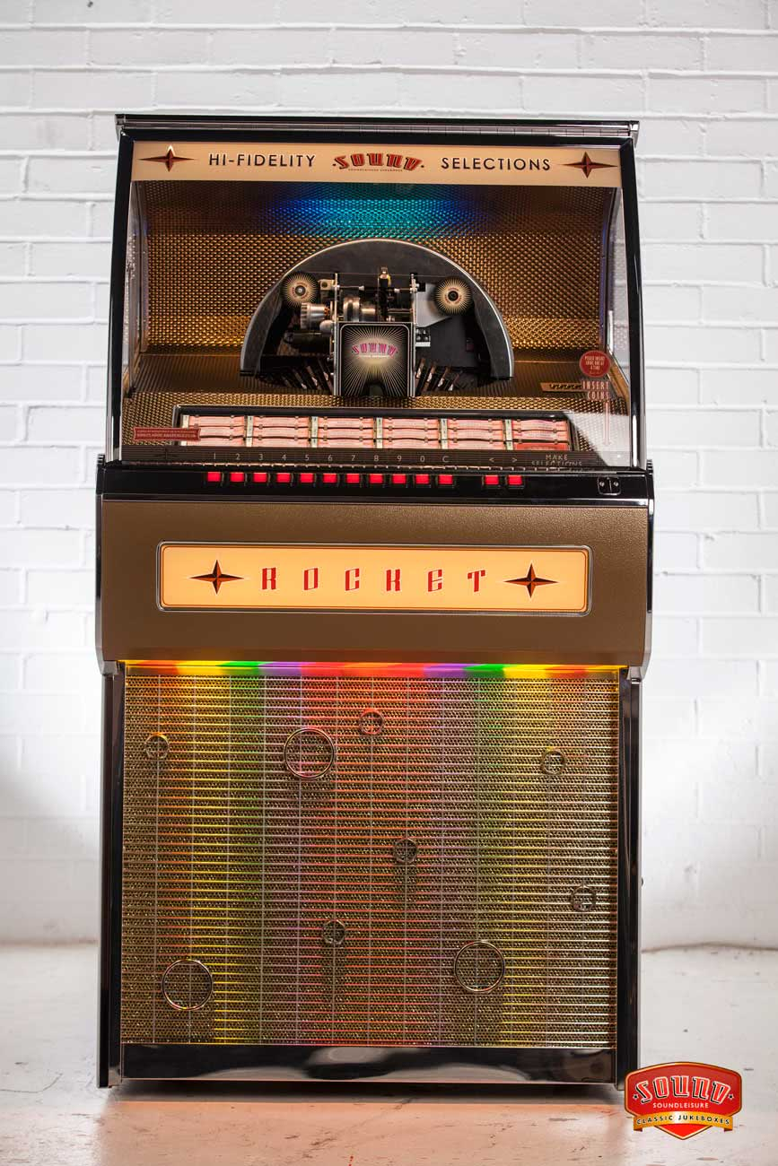Rocket Vinyl Jukebox Liberty Games
