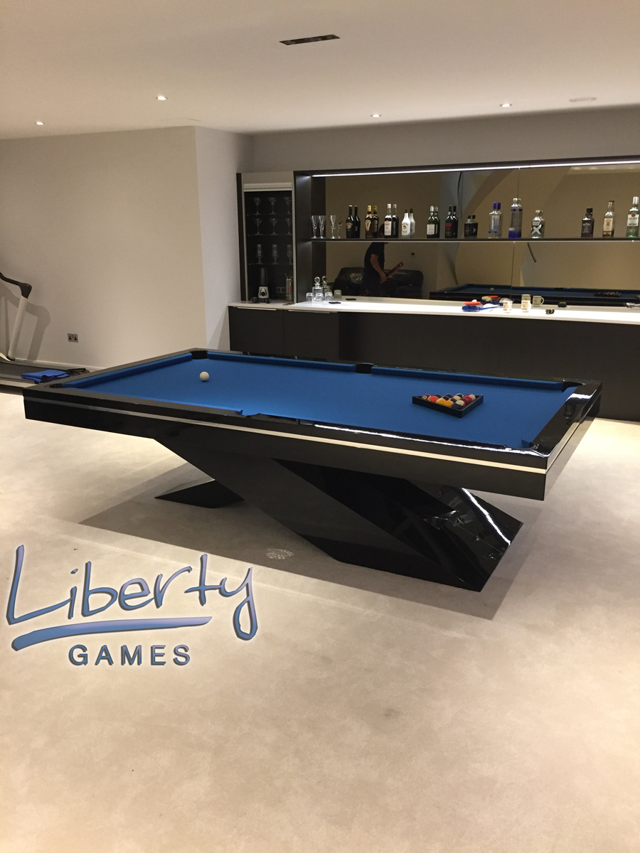 Merveilleux The Olympus Slate Bed Pool Table Installed By Liberty Games