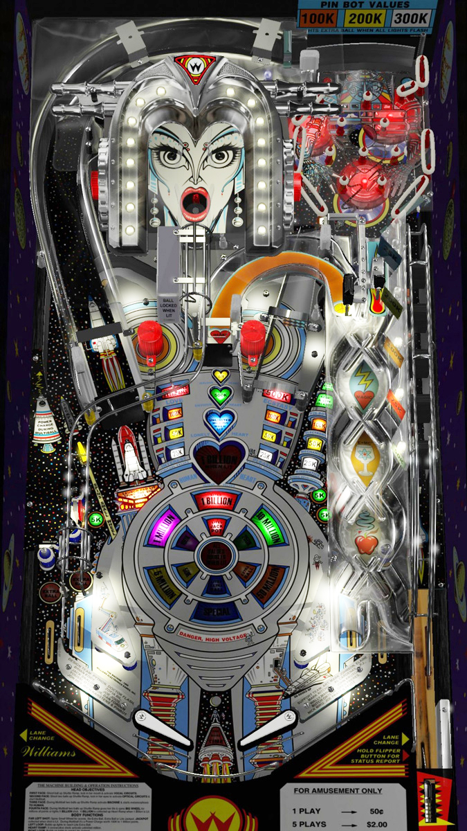 Multipin Virtual Pinball Liberty Games