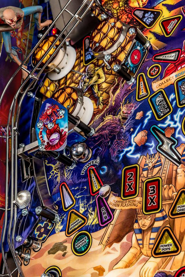 Iron Maiden Legacy Of The Beast Le Pinball Machine