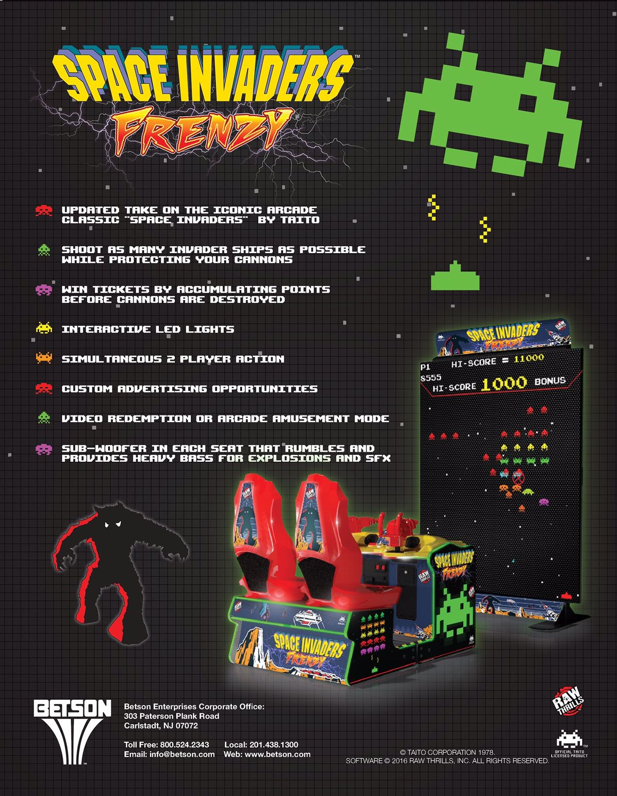 Space Invaders Frenzy Liberty Games