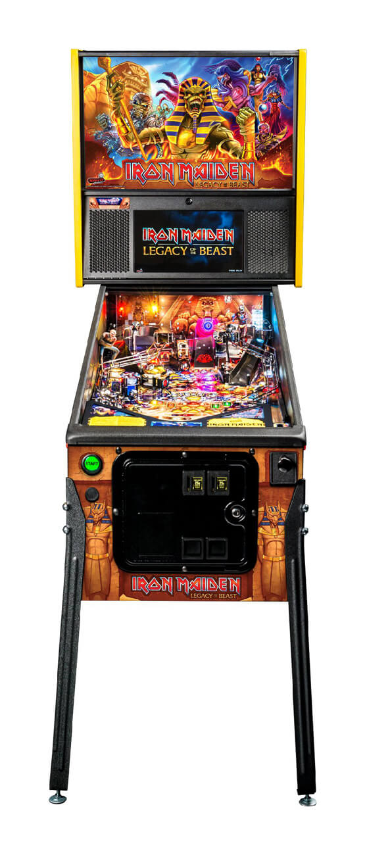 Iron Maiden Legacy Of The Beast Premium Pinball Machine