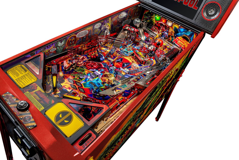 Stern Deadpool Le Pinball Machine Liberty Games