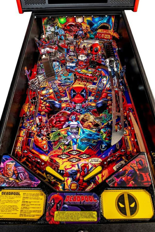 Stern Deadpool Pro Pinball Machine Liberty Games