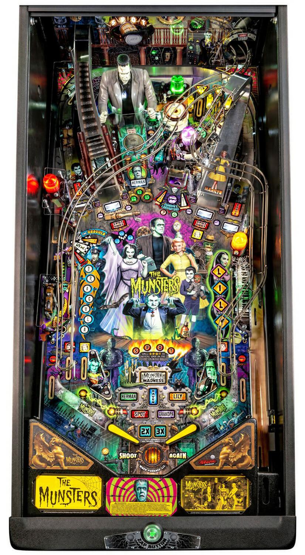 Stern The Munsters Pro Pinball Machine Liberty Games