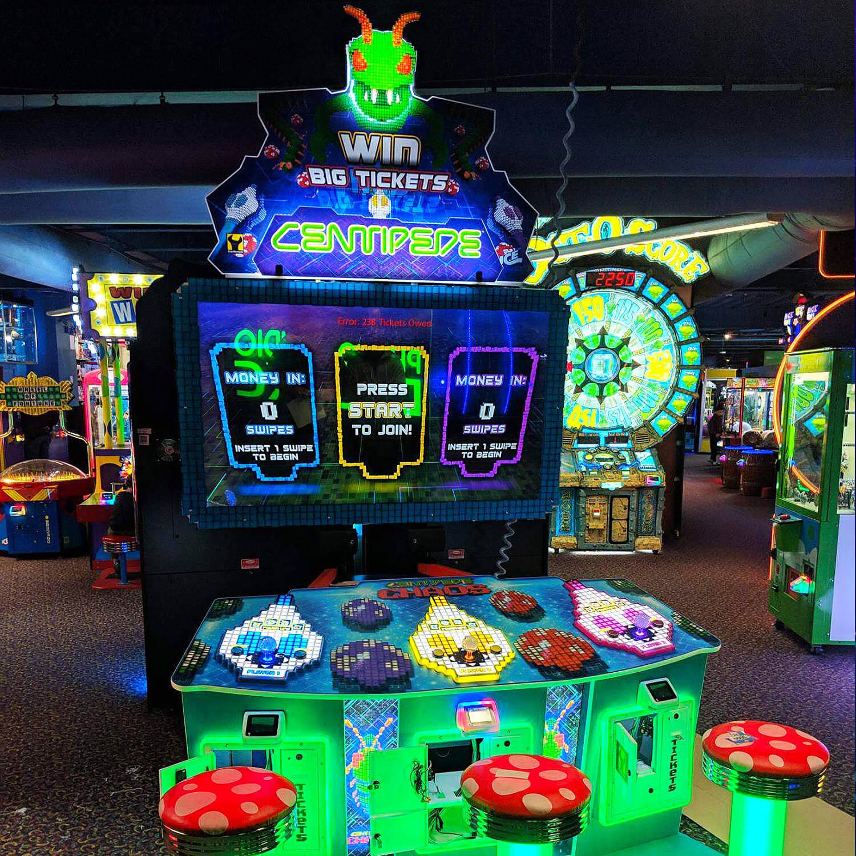 Sega Centipede Chaos Arcade Machine Liberty Games