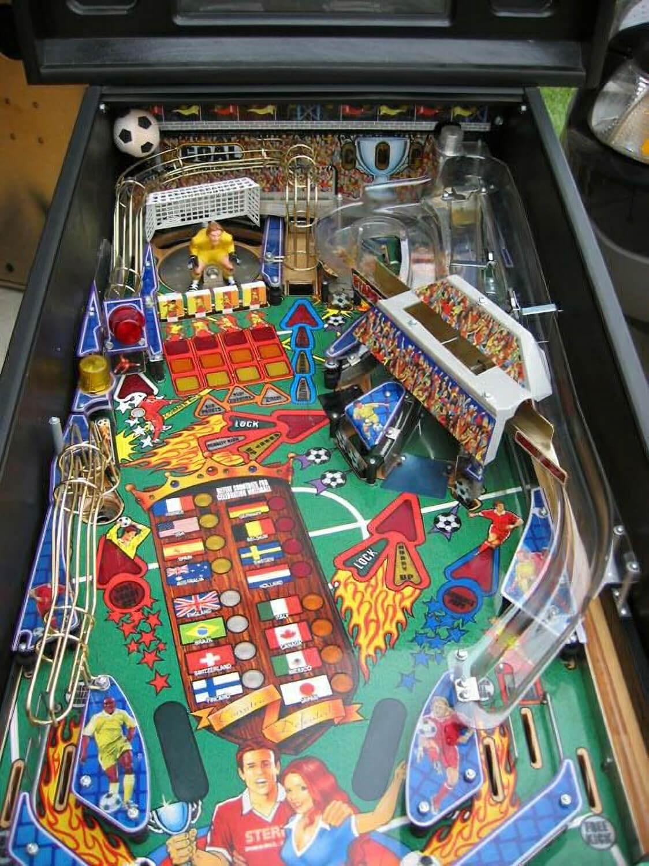 Stern Striker Xtreme Pinball Machine Liberty Games