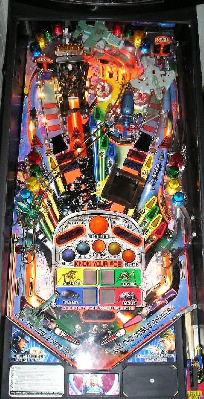 Starship Troopers Pinball Machine Liberty Games