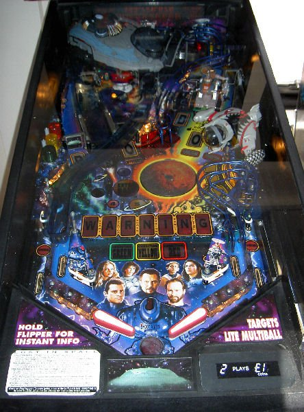 Lost In Space Pinball Machine Liberty Games