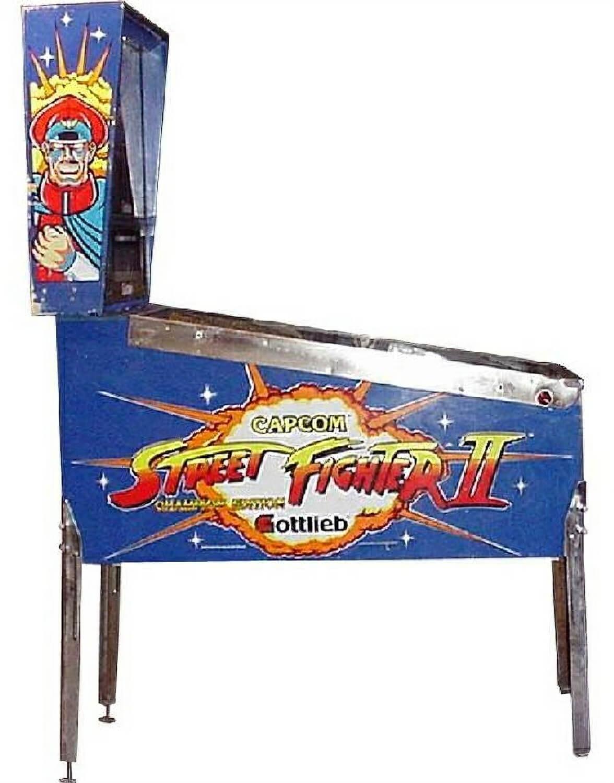 fighter 2 pinball machine