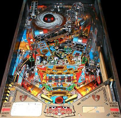 Judge Dredd Pinball Liberty Games