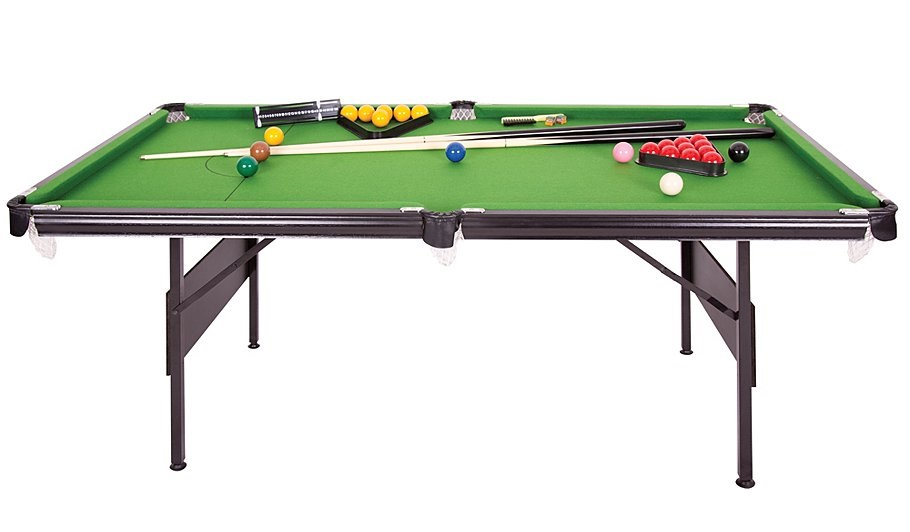 Crucible Foot In Folding Snooker Pool Table Liberty Games - Snooker table vs pool table