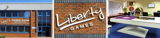 The Liberty Games Showroom and Offices