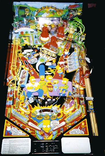 The Simpsons Pinball Machine Liberty Games