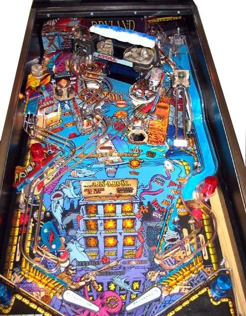 Waterworld Pinball Machine Liberty Games