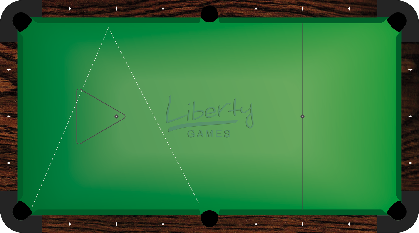 Introduction To The Pool Diamond System By Liberty Games - Pool table with no holes