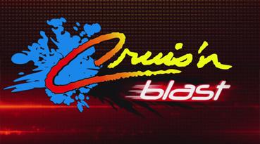 Raw Thrills Cruis'n Blast Arcade Machine